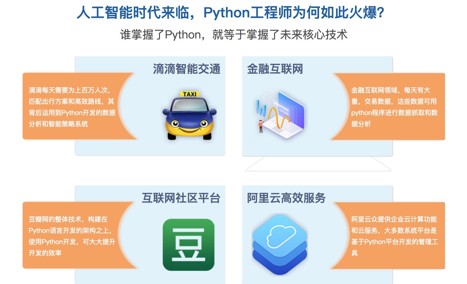 python培训哪个机构好?阿里python工程师帮你把关