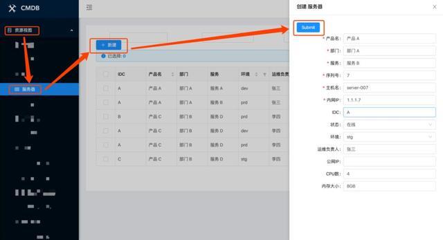 基于开源CMDB系统快速实现一棵服务树