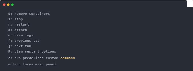 Docker 服务终端 UI 管理工具